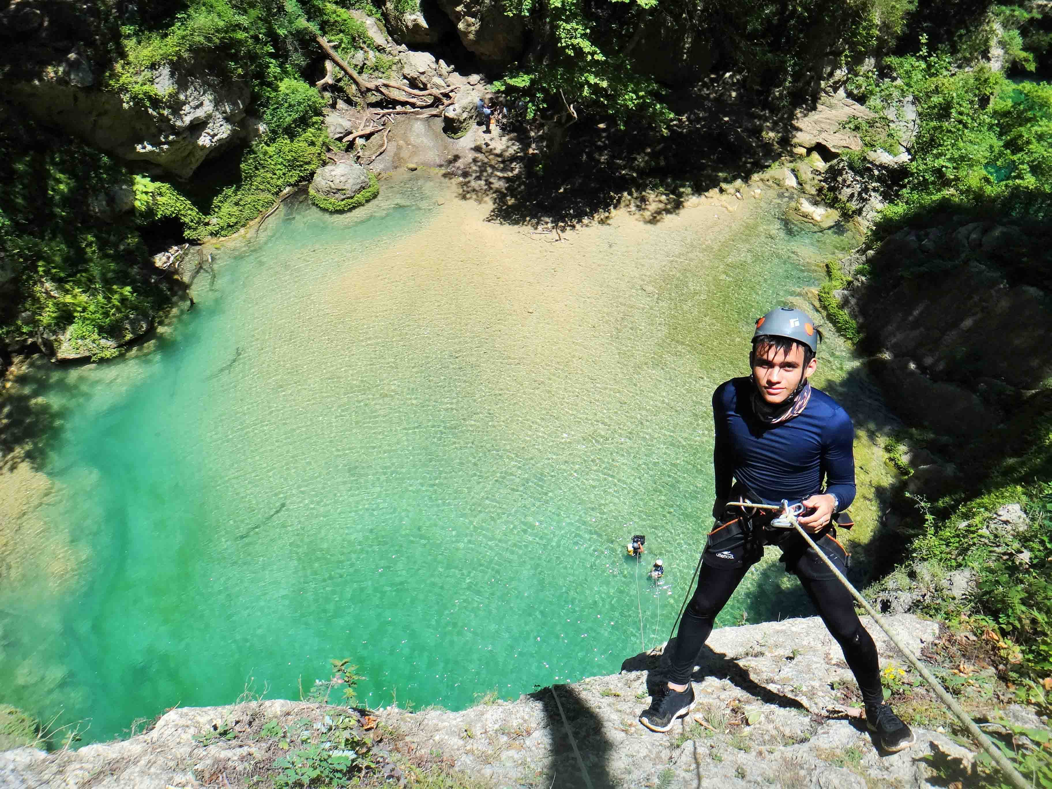 CHIPITIN Canyoning 2018 - Monterrey, Nuevo Léon