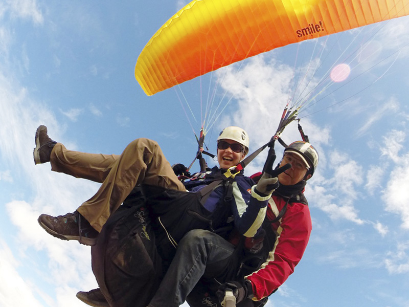 Paragliding Monterrey | Book your Paragliding Tandem‎
