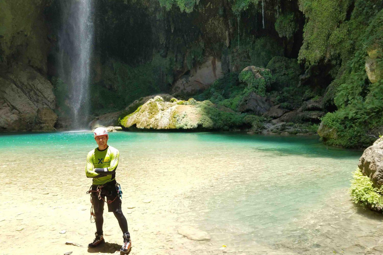 Foto cascada del chipitin
